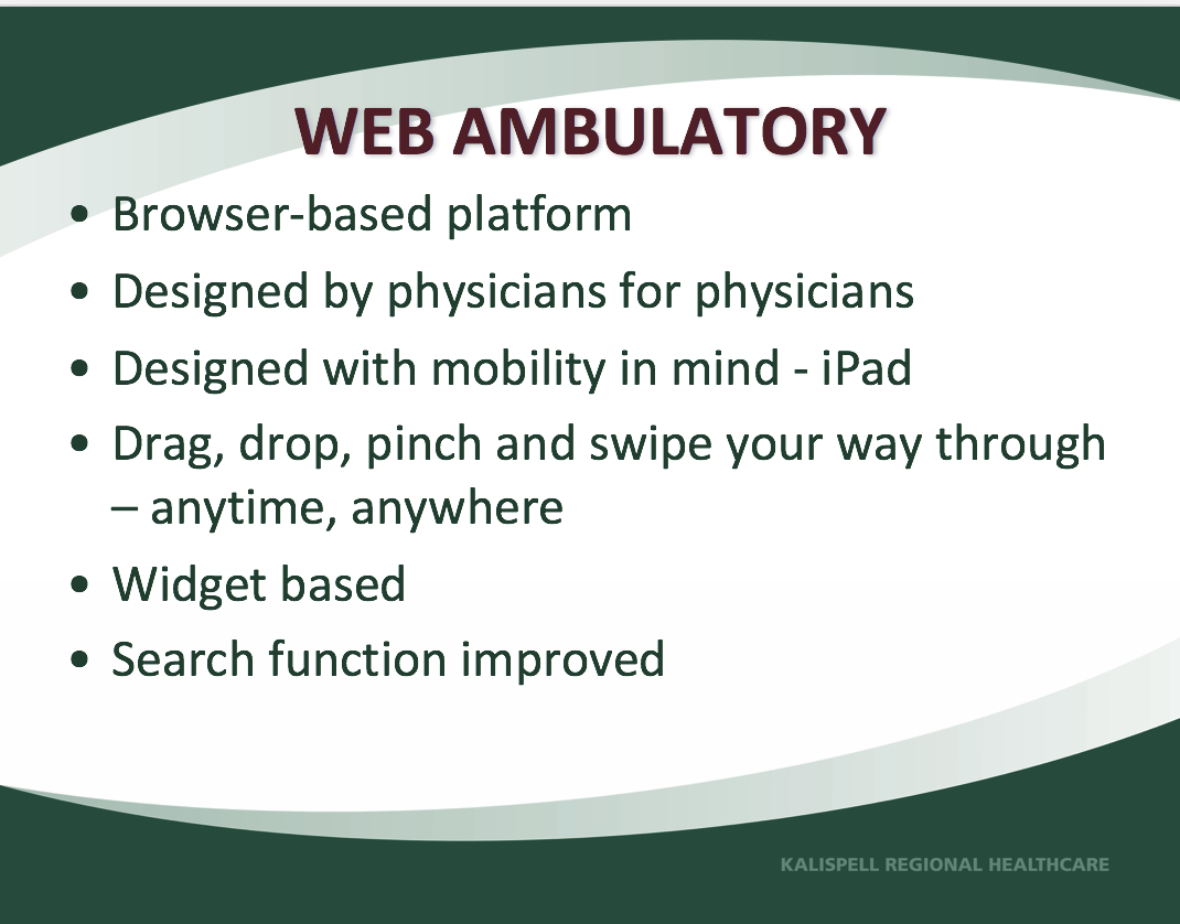 web ambulatory
